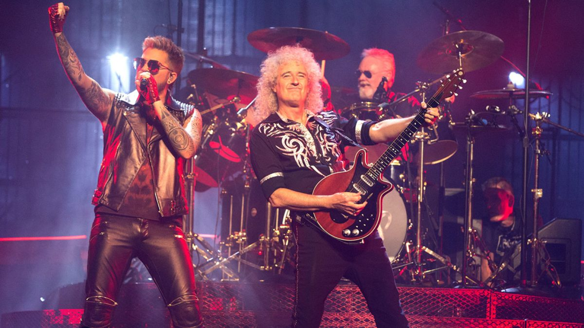 The Meeting of Queen and Adam Lambert