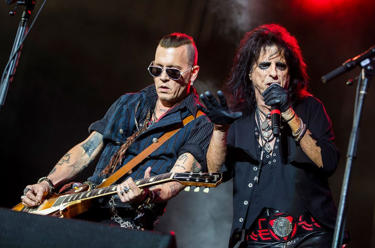 Johnny Depp and Hollywood Vampires Cover 'Heroes' by David Bowie